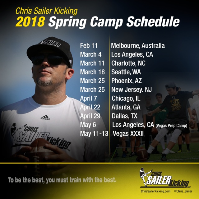 2018 Spring Camps